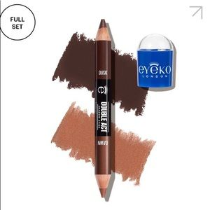 Eyeko Double Act Shadow Stick in Dusk and Dawn